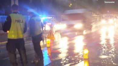 Sosnowiec: Chciał staranować radiowóz i potrącić policjanta. Został aresztowany (fot.Śląska Policja)