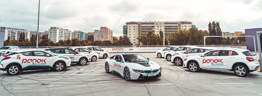 Na ten moment PANEK CarSharing to 9-ty pod względem liczebności aut CarSharing w Europie fot. Dominik Kozłowski
