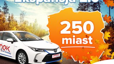 CarSharing od teraz jest dostępny w każdym mieście powyżej 20 000 mieszkańców! (fot.materiały prasowe partnera)