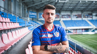 Piast Gliwice ma nowego zawodnika. To Michał Chrapek wcześniej związany ze Śląskiem Wrocław (fot.UM Gliwice)
