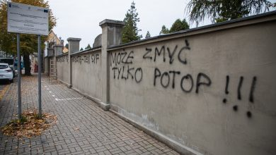 Skandal! W Bielsku ktoś zniszczył ogrodzenie cmentarza! Fot. UM Bielsko-Biała