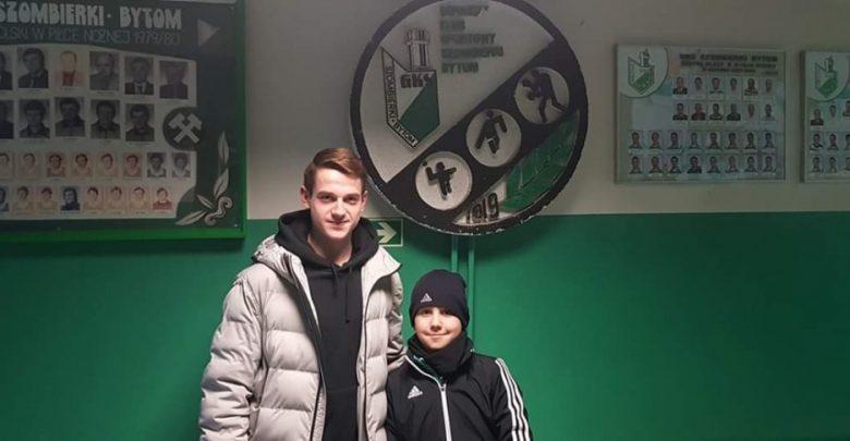 Wychowanek Szombierek Bytom w piłkarskiej kadrze narodowej (fot.UM Bytom)