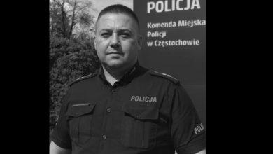 Śląskie: Nie żyje 46-letni policjant. To bohater, który złapał spadającą z 3. piętra dziewczynkę (fot.policja)