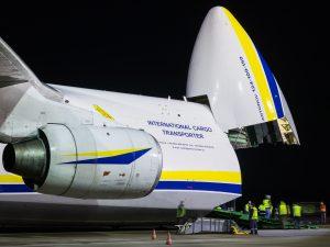 Zgodnie z planami, Antonov An-124 Rusłan przed końcem roku, jeszcze dwukrotnie zawita do Międzynarodowego Portu Lotniczego w Katowicach (fot.Piotr Adamczyk)