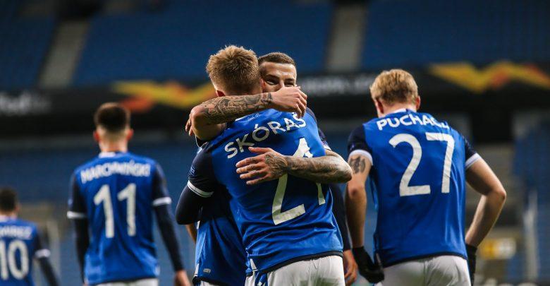 Lech wciąż liczy się w walce o awans! Kolejorz pokonał Standard Liege 3-1! (fot.Lech Poznań facebook)
