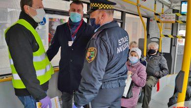 Są wyniki kontroli maseczek w bielskich autobusach. Fot. UM Bielsko-Biała