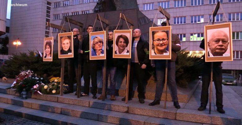 Katowice: Powiesili europosłów na szubienicach. Nikt za to nie odpowie, śledztwo umorzone
