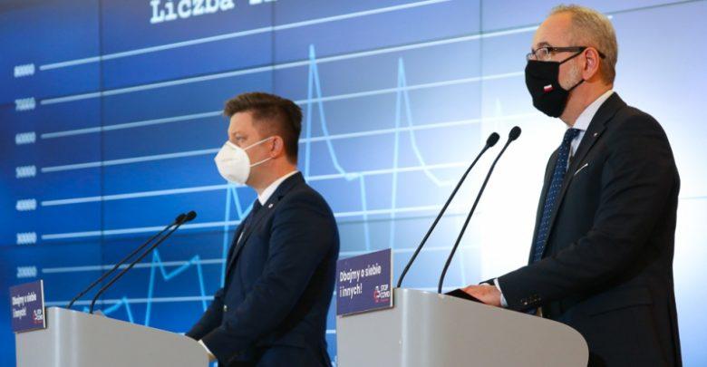 Minister zdrowia: stabilizacja zachorowań ro zasługa odpowiedzialności Polaków Fot. Adam Guz / KPRM