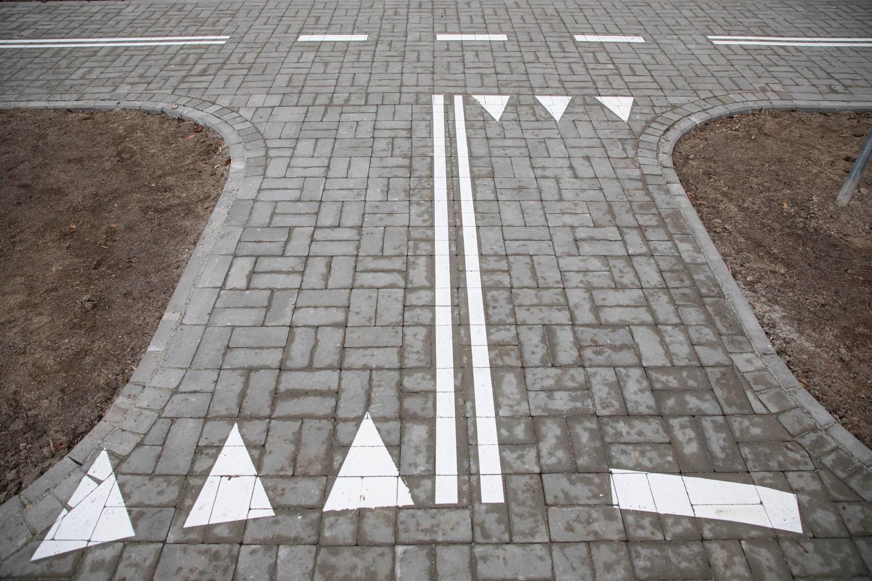 W Bielsku powstało minimiasteczko rowerowe [ZDJĘCIA], fot. P. Sowa/UM Bielsko-Biała