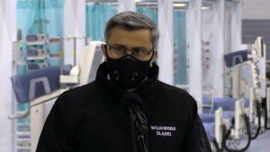 -My musimy być gotowi, żeby w województwie śląskim absolutnie dla żadnego pacjenta COVIDowego ani nie COVIDowego nie zabrakło miejsca - mówi Jarosław Wieczorek, wojewoda śląski