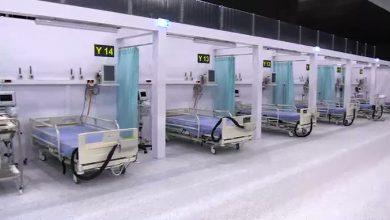 Do tymczasowego szpitala covidowego w MCK w Katowicach trafił pierwszy pacjent