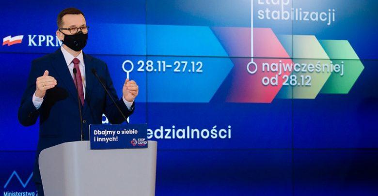 Polska walczy z koronawirusem. Plan i założenia na nadchodzące 100 dni (fot.premier.gov.pl)