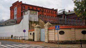Areszt Śledczy w Gliwicach - tu od piątku przebywa podejrzany o rozbój (fot.KMP Gliwice)