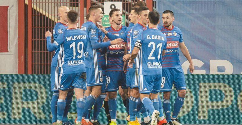 Ostatnia drużyna ekstraklasy? To już nie Piast Gliwice! Lechia Gdańsk pokonana 2-0! (fot. GKS Piast Gliwice)