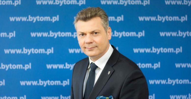 Mariusz Wołosz nowym przewodniczącym zgromadzenia GZM. Fot. UM Bytom