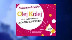 """""""Olej pociąg"""", czyli autobusy idą na cenową wojną z koleją na trasie Katowice - Kraków"""