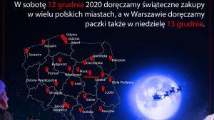 W wielu miastach kurierzy zapukają do klientów Poczty Polskiej w soboty. Mieszkańcy Warszawy mogą się spodziewać, że ich e-zakupy zostaną dostarczone również w najbliższą niedzielę (fot.Poczta Polska)
