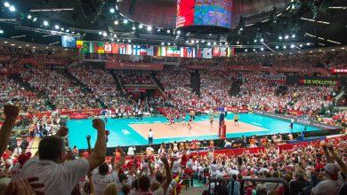 Wielka siatkówka ponownie w Spodku! Mistrzostwa Europy 2021 mężczyzn odbędą się w Polsce, Czechach, Estonii i Finlandii, a finały właśnie w Katowicach! Wcześniej, w maju 2021 odbędzie się w Katowicach Siatkarska Liga Narodów (fot.katowice.eu/facebook)