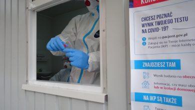 Jak informuje Szpital Miejski nr 4 w Gliwicach, mobilny punkt badań w kierunku SARS-CoV-2 przy ulicy Zygmunta Starego 20 będzie służył większej liczbie pacjentów (fot.SMnr4 w Gliwicach)