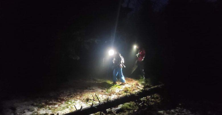 Trudna akcja GOPR we mgle. Ratowali matkę z dwoma córkami. Fot. GOPR Beskidy