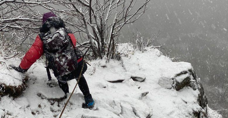 Wigilijna interwencja GOPR. Kobieta utknęła w górach. Fot. M. Moskwa/GOPR Beskidy