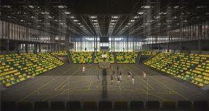 Kompleks sportowy plus obiekt piłkarski dla prawie 15 tys. widzów, hala dla prawie 3 tys. widzów oraz zaplecze treningowe (fot.UM Katowice)