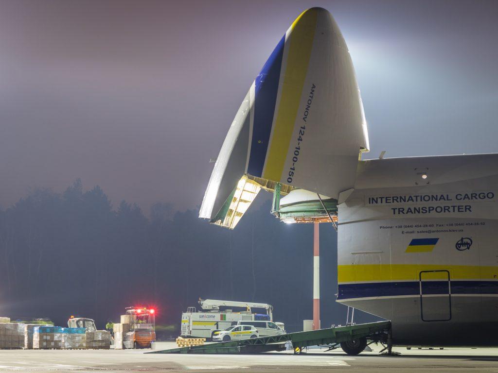 Potężny Antonov 124 Rusłan przyleci jeszcze w grudniu do Katowice Airport! Zdjęcia: Piotr Adamczyk/Katowice Airport