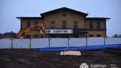 W Dąbrowie Górniczej ruszyła rozbiórka starego dworca PKP [WIDEO]. Fot. UM Dąbrowa Górnicza