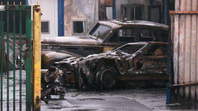 Samochody za milion złotych spłonęły w Katowicach! Z ogniem poszły unikalne zabytki