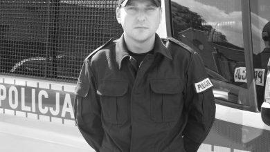 34-letni policjant zmarł na COVID. Jego koledzy: To był prawy i honorowy człowiek (fot.Policja Pomorska)