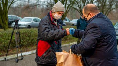 Pomoc w dobie pandemii, czyli wigilia dla bezdomnych w Bytomiu (fot.UM Bytom)