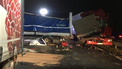 Śląskie: Ogromny karambol na autostradzie A4. Co się stało? (fot.Śląska Policja)