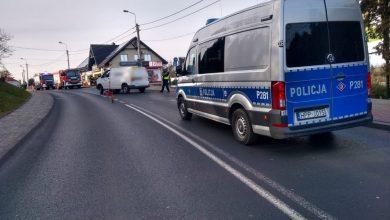 Tragiczny wypadek w Jastrzębiu-Zdroju. Nie żyje rowerzysta (fot.Śląska Policja)
