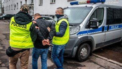 Ruda Śląska: Prawie zadźgał swoją partnerkę. Sąd zadecydował o jego aresztowaniu (fot.Śląska Policja)
