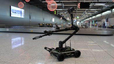 Katowice-Pyrzowice: Robot pirotechniczny w szeregach Straży Granicznej [FOTO]