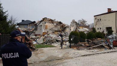 Wybuch gazu w domu jednorodzinnym. Dwie osoby nie żyją (fot.Policja Lubelska)