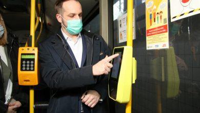 Za bilet zapłacisz zegarkiem. Bielsko testuje nowe kasowniki w autobusach. Fot. UM Bielsko-Biała