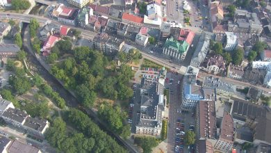 Bielsko-Biała: będzie rewitalizacja parku za Ratuszem. Fot. UM Bielsko-Biała