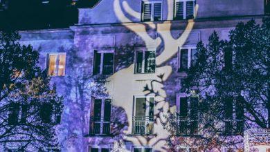 Świąteczne mappingi w Tychach. Można oglądać przez cały weekend. Fot. UM Tychy
