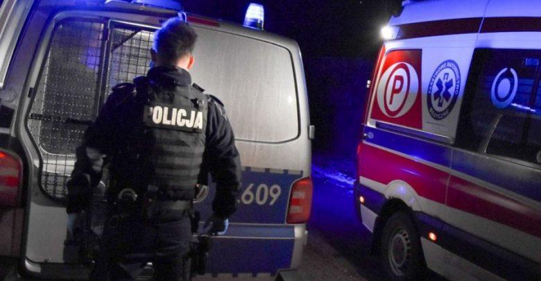 Okradł karetkę, po czym przystawił sobie nóż do gardła (fot.policja.pl)