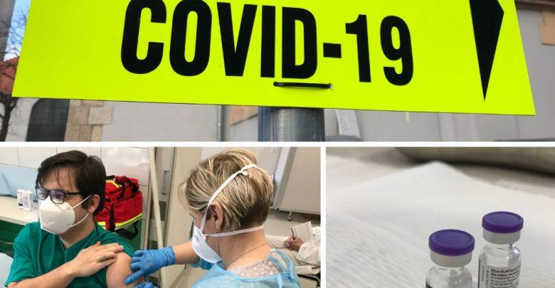 Chorzów: w Zespole Szpitali Miejskich ruszyły pierwsze szczepienia na koronawirusa (fot.UM Chorzów/ZSM w Chorzowie)