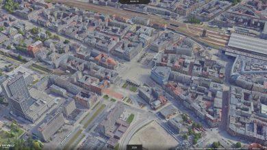 Katowice można oglądać w 3D. Są tez zdjęcia archiwalne. Fot. UM Katowice