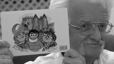 """Papcio Chmiel nie żyje! Autor serii """"Tytus, Romek i A'Tomek"""" miał 97 lat"""