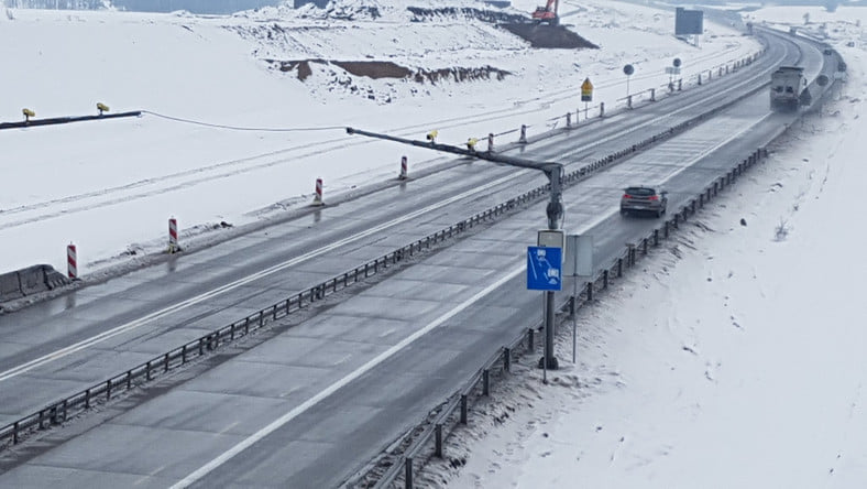 1300 zdjęć w jeden dzień! Odcinkowy Pomiar Prędkości na autostradzie A1 działa jak złoto!   fot.Wydział Ruchu Drogowego - Komenda Wojewódzka Policji w Katowicach