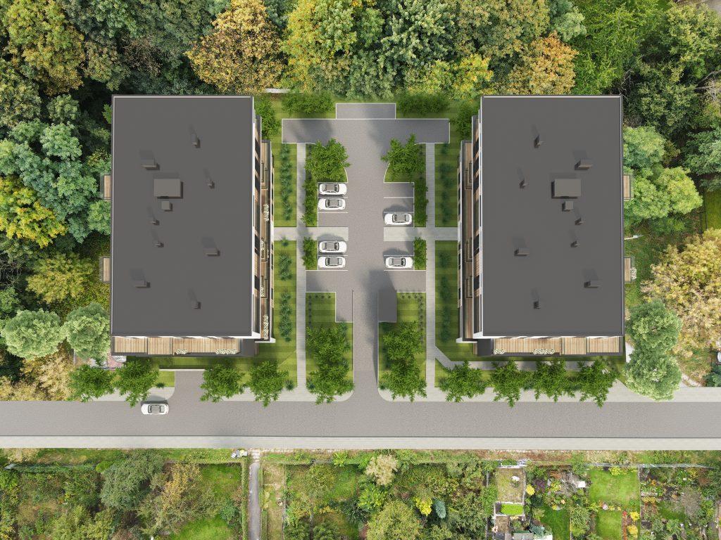 Nowe osiedle i mieszkania w Sosnowcu. Powstaje Osiedle Uniwersyteckie. Mieszkania w przedsprzedaży! (fot.Holdimex.pl)