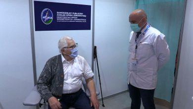 Katowice: Pierwszy senior zaszczepiony przeciwko COVID-19. To Włodzimierz Czechowski