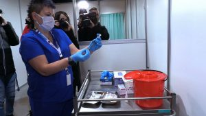 Od poniedziałku 25 stycznia rozpoczęły się szczepienia kolejnej grupy, czyli seniorów powyżej 70. roku życia