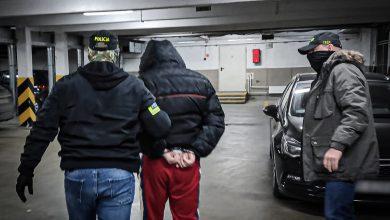 Policjant na wolnym skończył z wolnym szefa gangu. Groźny przestępca trafił za kraty, 200 tys. euro do depozytu (fot.CBŚP)