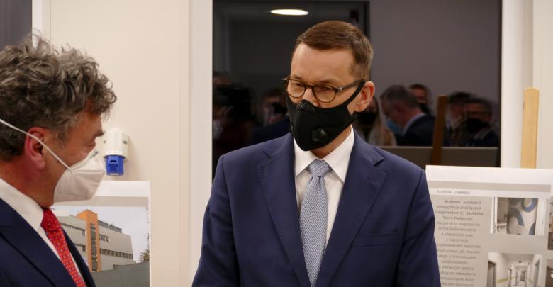 Katowice: Premier Mateusz Morawiecki na Śląskim Uniwersytecie Medycznym. Powstaje tu bank tkanek (fot.ŚUW w Katowicach)