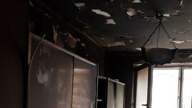 Tragiczny pożar w bloku. Nie żyją dwie osoby (fot.Policja Lubelska)